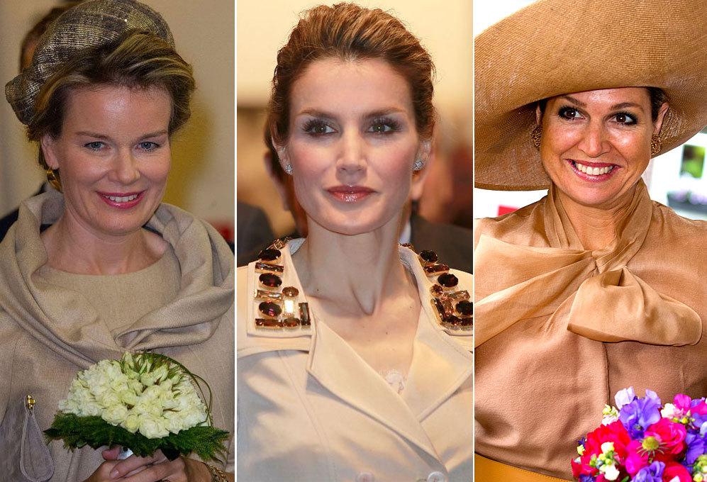 Matilde, Máxima y Letizia tienen un estilo radicalmente distinto en...