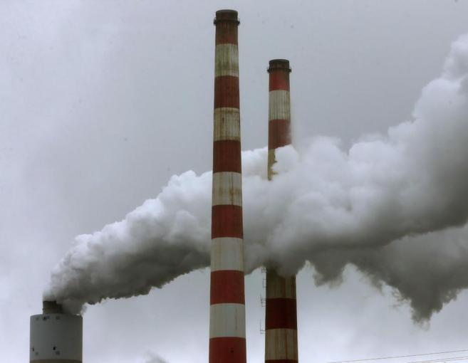 Una planta de carbón en Newburg (Maryland, EEUU).
