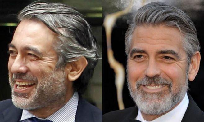 El magistrado Enrique López y el actor George Clooney guardan un gran...