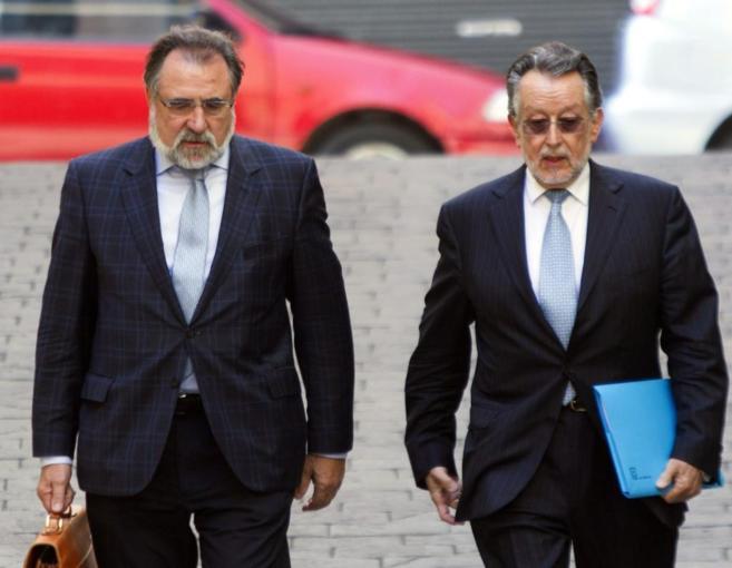 El vicealcalde de Valencia, Alfonso Grau, llega a los juzgados de...