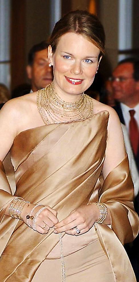 La reina Matilde de Bélgica.