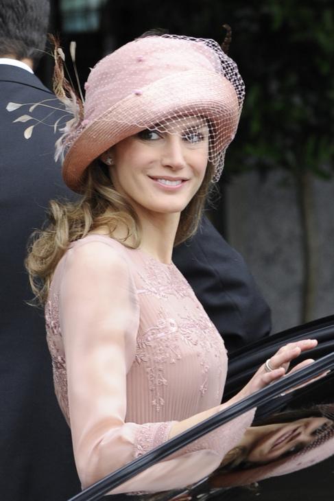 Doña Letizia, en la boda de Guillermo y Catalina de Inglaterra.