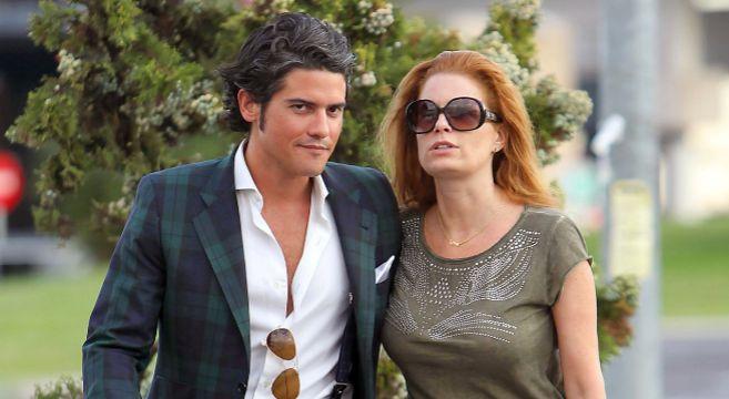 Olivia de Borbón y Julian Porras, en una imagen reciente.