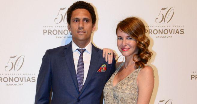 Vega Royo-Villanova y su novio, en una imagen reciente.