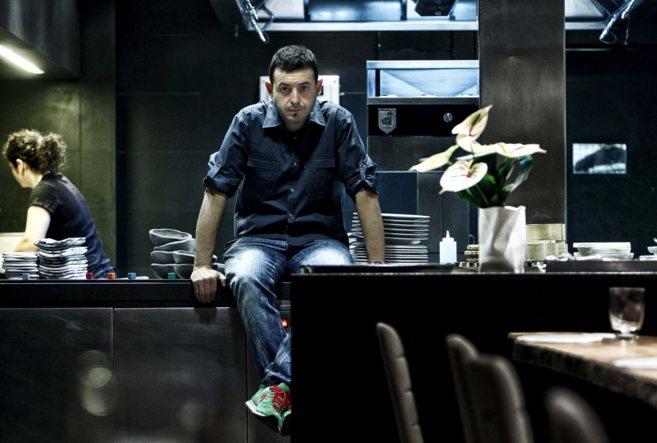 El cocinero Ricard Camarena.