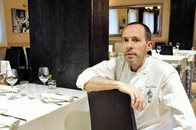 El chef Etienne Bastaits, en el nuevo restaurante Atelier Belge,...