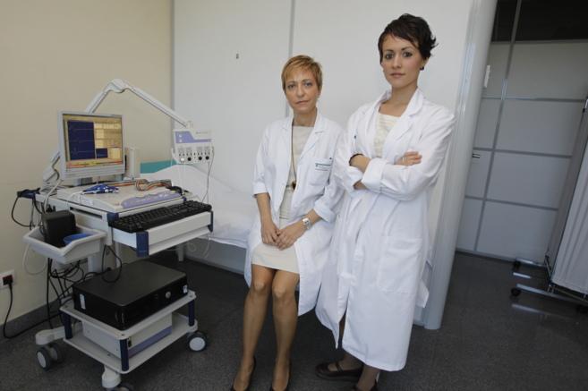 La neurofísica clínica Maribel Andrés y la psicopedagoga Clara...