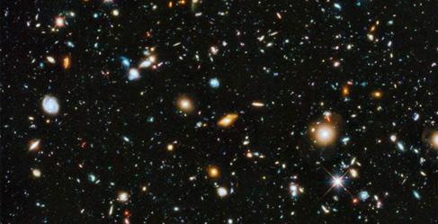 La imagen capturada por el Hubble contiene unas 10.000 galaxias.