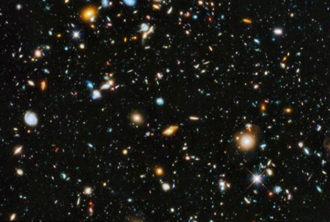 La imagen capturada por el telescopio espacial Hubble contiene unas...