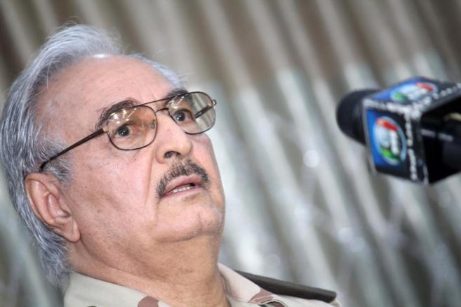 El militar Jalifa Haftar, en una foto de archivo.
