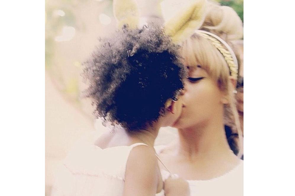 Beyoncé no se cansa de llenar su 'timeline' con momentos tan dulces...