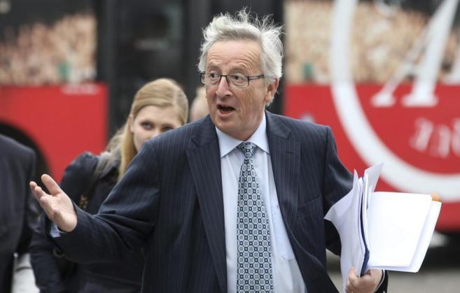 Jean-Claude Juncker, fotografiado en su llegada a una reunión en...