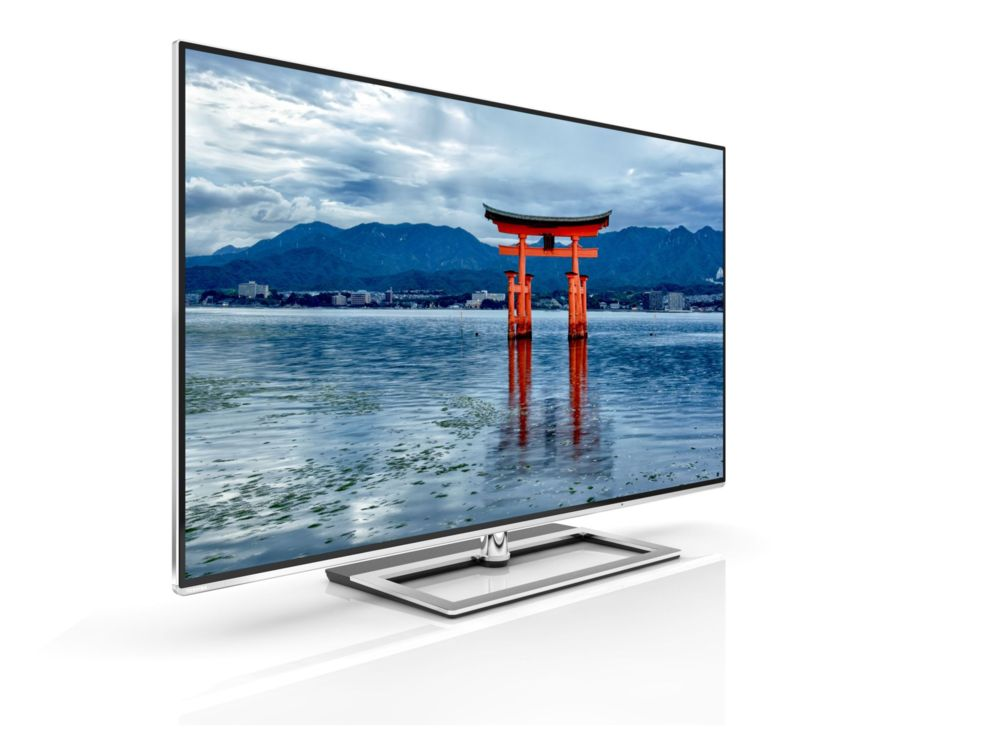 <STRONG>TOSHIBA 58L9363DG.</STRONG>  La serie L9 de Toshiba está disponible en 58, 65 y 84 pulgadas y cuenta con un motor de escalado capaz de convertir la señal Full HD a una resolución cercana al 4K nativo. Con sólo 7 cm de grosor en su parte más gruesa, es uno de los televisores UltraHD más delgados. Precio: 2.999 euros. www.toshiba.es