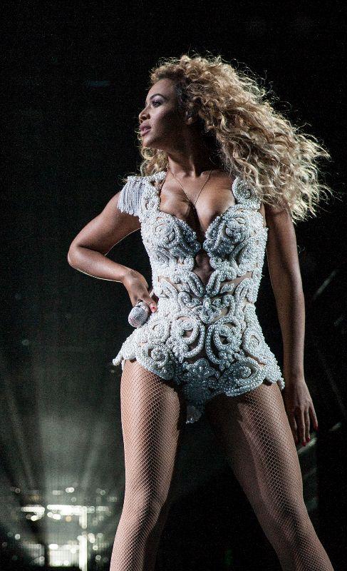 Beyoncé. A Beyoncé (32) le encantan los vestidos tipo sirena....