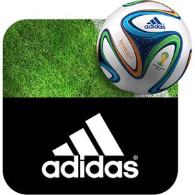 <STRONG>SALVAPANTALLAS.</STRONG> La app Adidas 2014 FIFA World Cup LWP permite poner salvapantallas personalizados con los colores de las selecciones en teléfonos y tabletas. Además de la hora y la temperatura, permite jugar con un balón virtual. Al desbloquear, una animación lleva al usuario al centro del estadio Maracaná. Android.