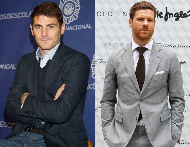 Iker Casillas y Xabi Alonso son los dos futbolistas favoritos de las...