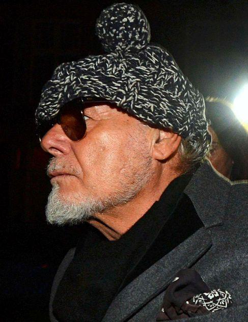 Gary Glitter, en 2012 tras ser detenido.