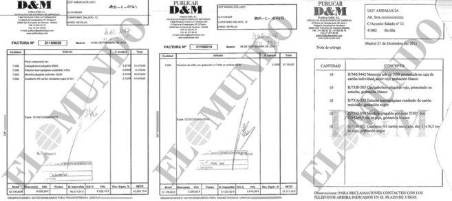 COMPRA DIEZ Y FACTURA SIETE MIL. Los documentos reproducidos arriba...