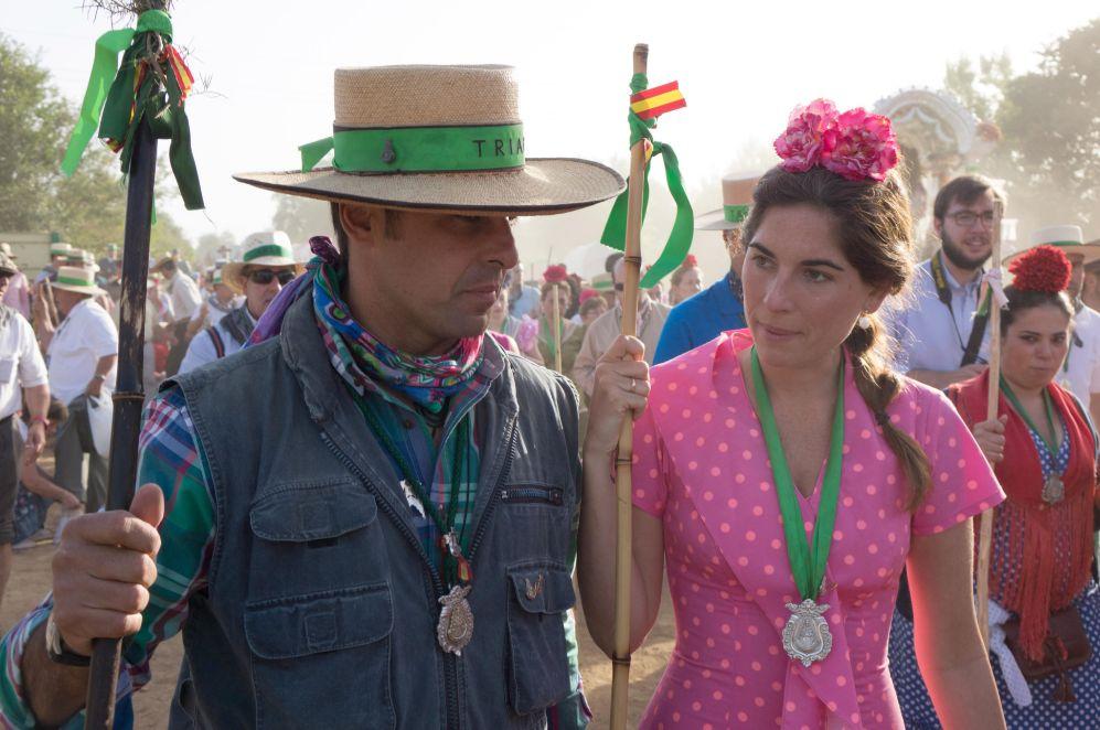 Francisco Rivera y Lourdes Montes disfrutan juntos del camino del...