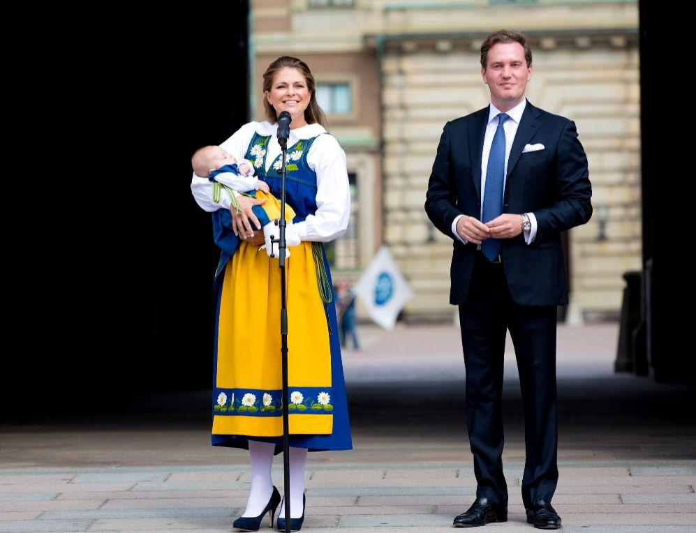 La princesa Leonor celebra su primer Día Nacional de Suecia junto a...