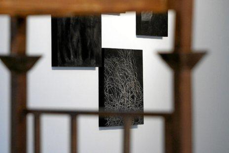 Una de las obras de Borrego, expuestas en Las Cigarreras
