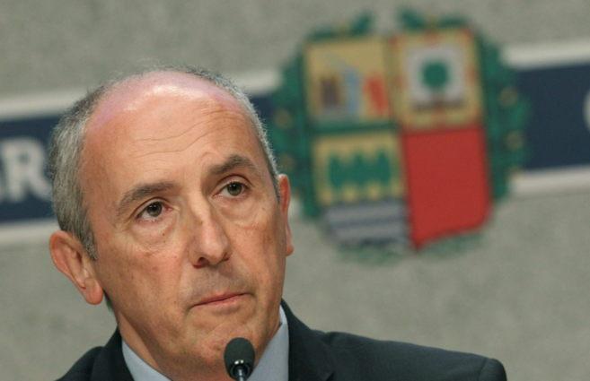 El portavos del Gobierno vasco, Josu Erkoreka.