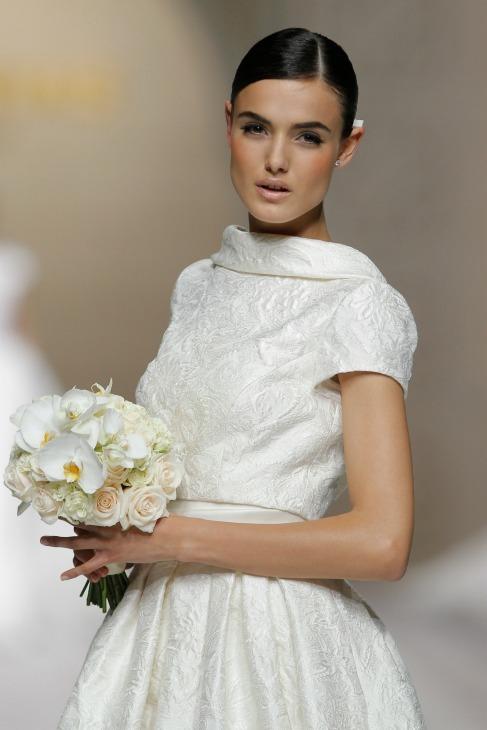 Después de tomar buena nota de las tendencias en vestidos de novia de...