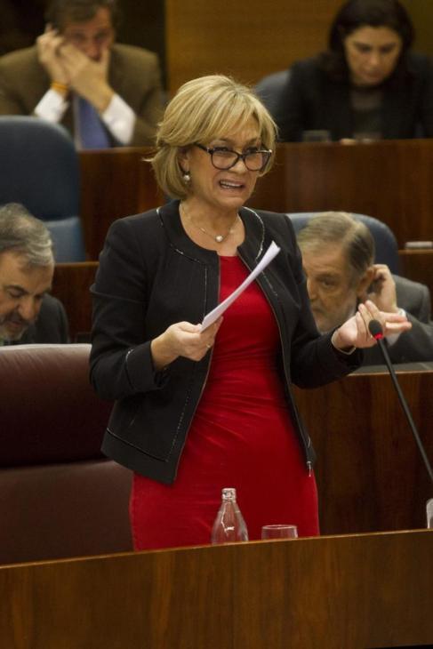 Ana Isabel Mariño en la Asamblea Regional.