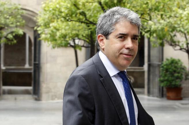 El conseller de Presidència, Francesc Homs.