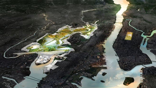 Imagen de uno de los seis proyectos que se desarrollan para proteger...