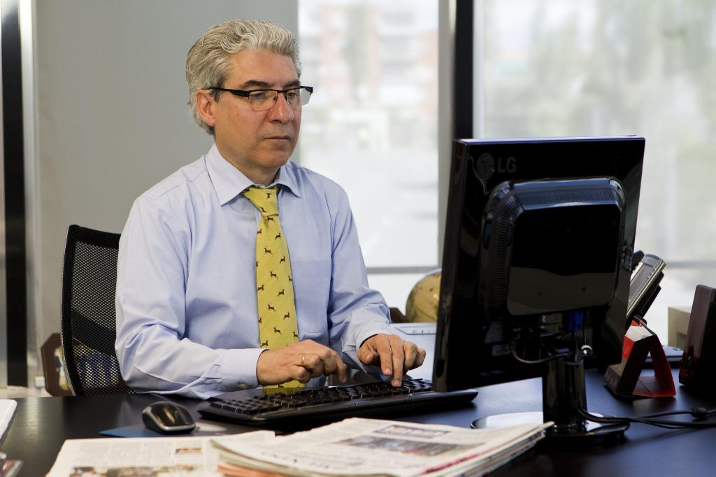 El director de EL MUNDO, Casimiro García-Abadillo