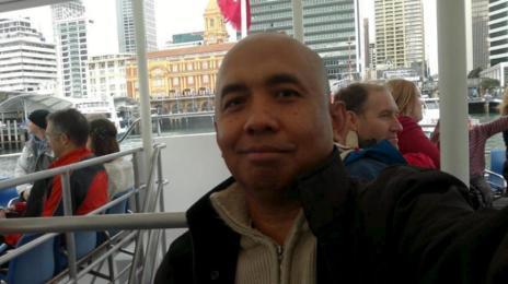 El piloto Zaharie Ahmad Shah