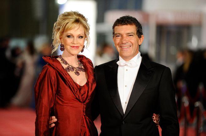 Antonio Banderas y Melanie Griffith, en una imagen de archivo.