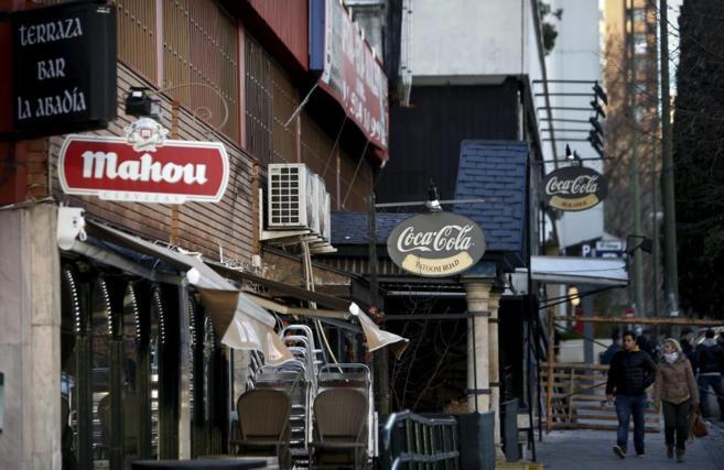 Algunos de los locales de ocio de la Avenida de Brasil.