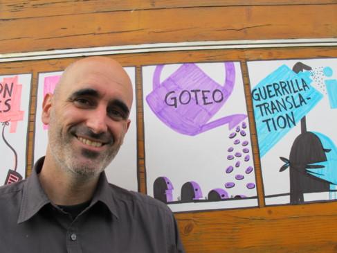 Enric Senabre, cofundador de Goteo.org.