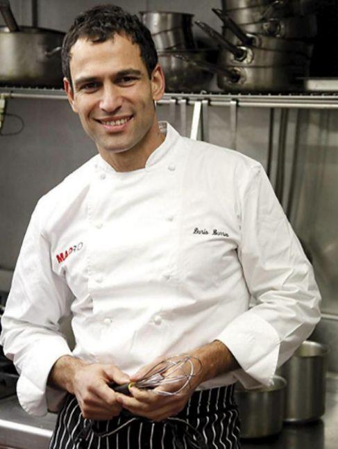 El cocinero Darío Barrio.