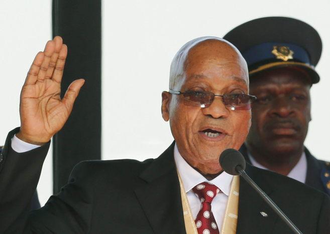 El presidente sudafricano, Jacob Zuma, en Pretoria.