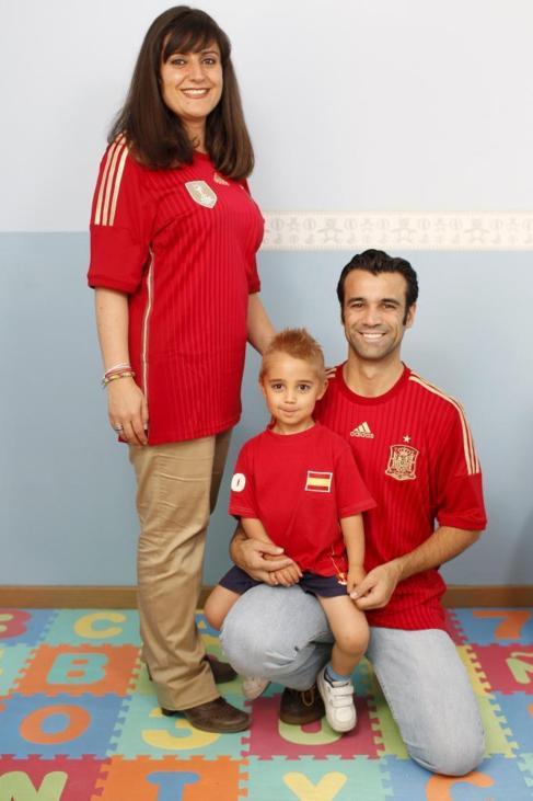 Amaya Pérez, David Aparicio... y Alejandro.