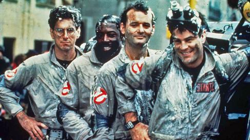 Los cuatro protagonistas de la cinta.