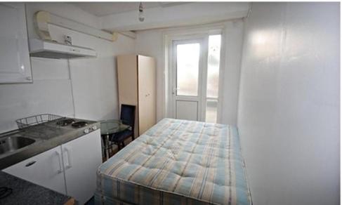 Vista del apartamento de 15 metros de Londres.