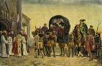 Llegada de Carlos V a Jarandilla, la última etapa de su viaje hasta...