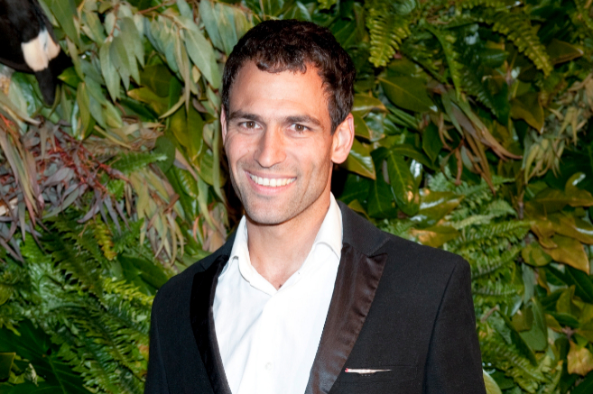 El cocinero Dario Barrio en marzo de 2011.