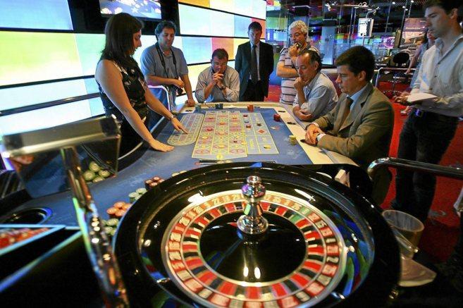 Interior del casino Mediterráneo de Alicante, del grupo empresarial...