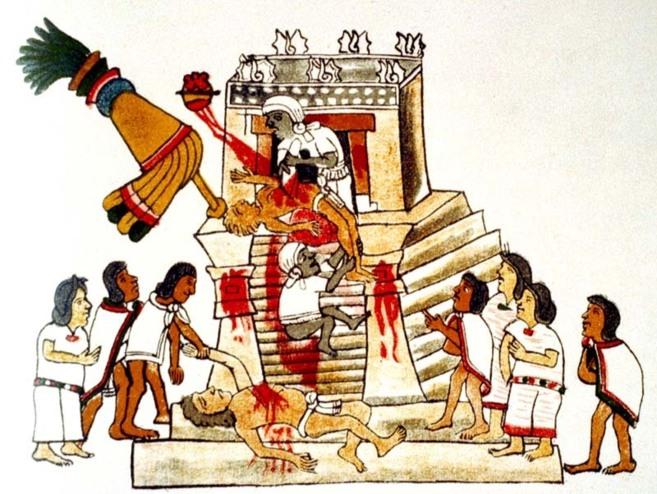 La Sangre Y El Corazón El Alimento De Los Dioses Aztecas La