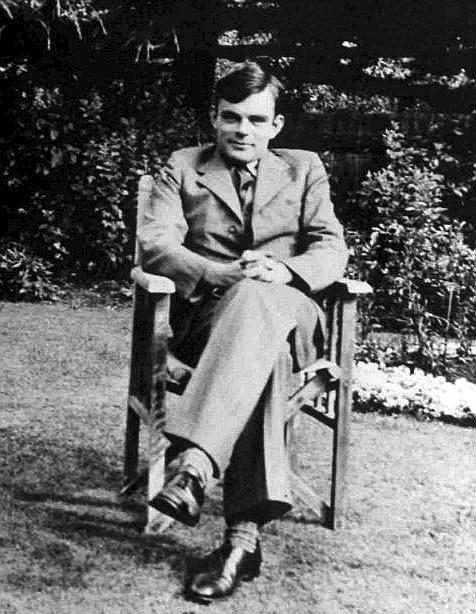 El matemático Alan Turing.