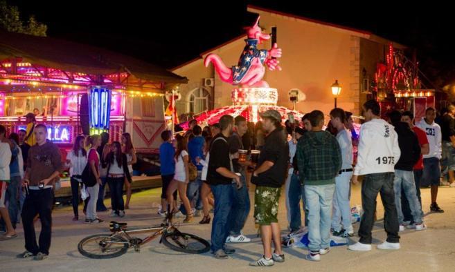 Fiestas en Torrelodones pueblo en 2010.