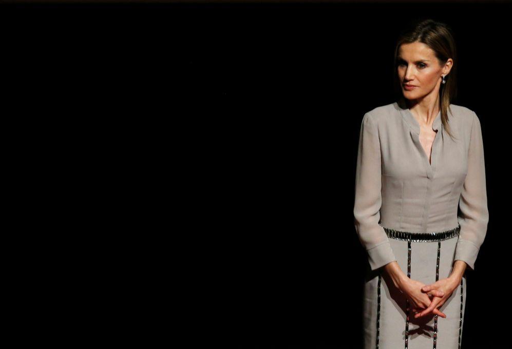 El viernes, doña Letizia entregó los Premios Nacionales de la Moda....