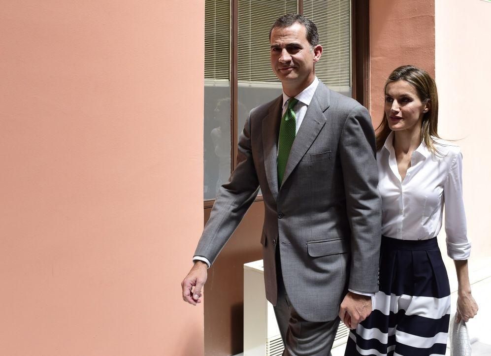 Este acto fue el único en rl que la Princesa de Asturias fue 'infiel'...