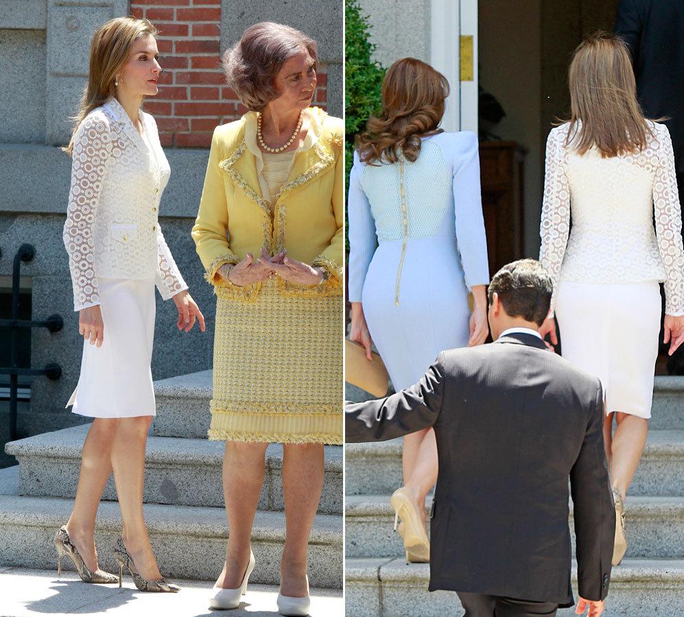 La Princesa de Asturias llevaba una chaqueta de Varela de nueva...