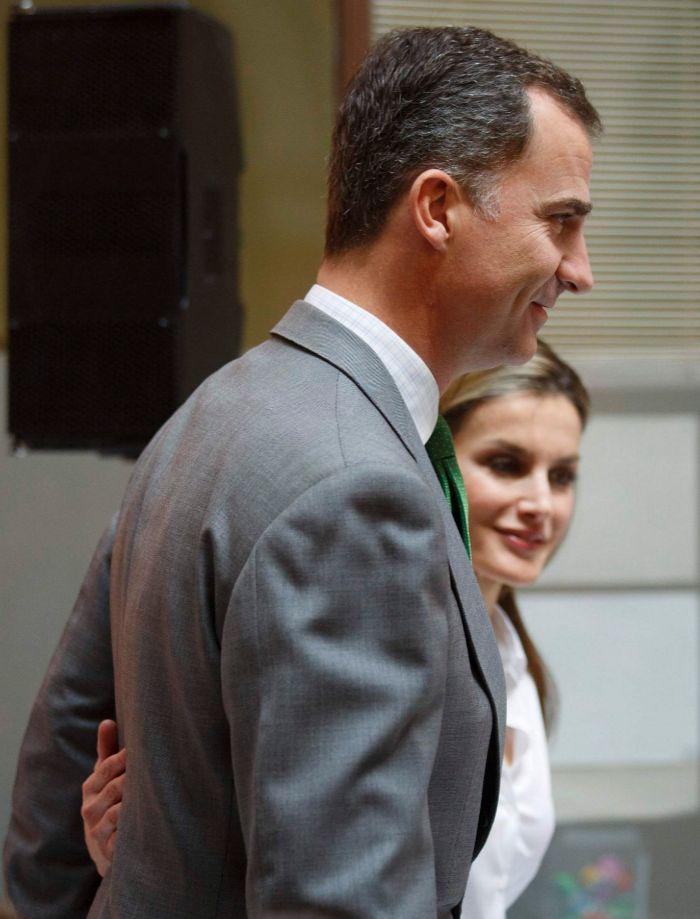 El jueves, los Príncipes de Asturias presidieron los Premios Europeos...